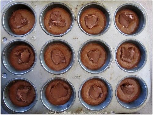 Chocolate Pudding Muffins