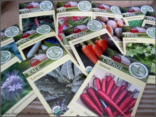 Seeds for Self Sufficiency