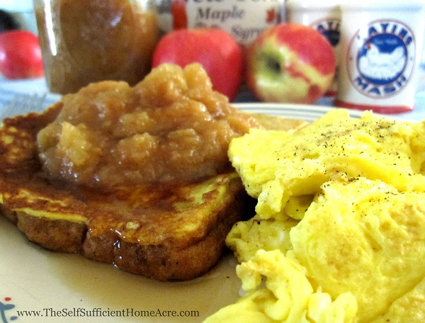 Scrambled Duck Eggs - the Self Sufficient HomeAcre
