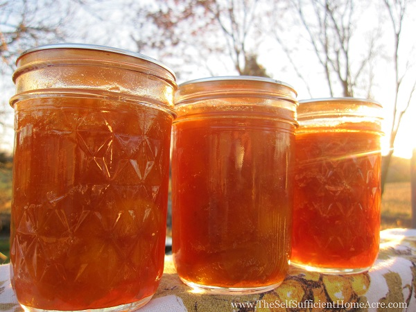 How to Make Peach Jam from Fresh or Frozen Fruit