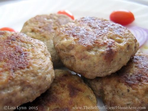 How to Make Duck & Chicken Sausage Patties