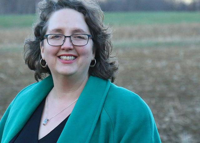 The author, Cindy Rinaman Marsch