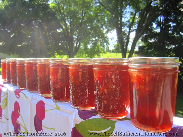 Cherry Jam - The Self Sufficient HomeAcre
