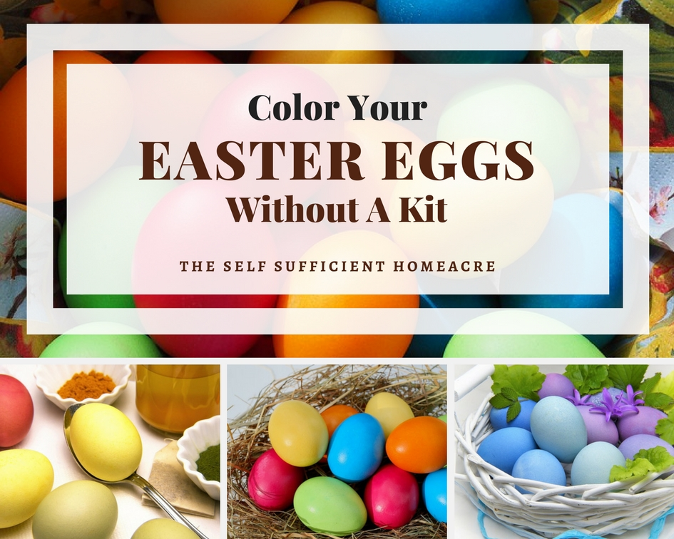 Color Your Easter Eggs without a kit - use these alternatives you may already have on hand to create your own colorful Easter Eggs!