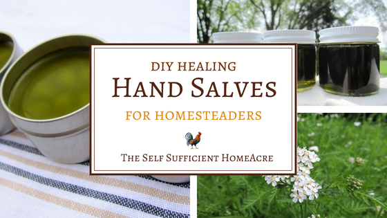 DIY Hand Salves for Homesteaders