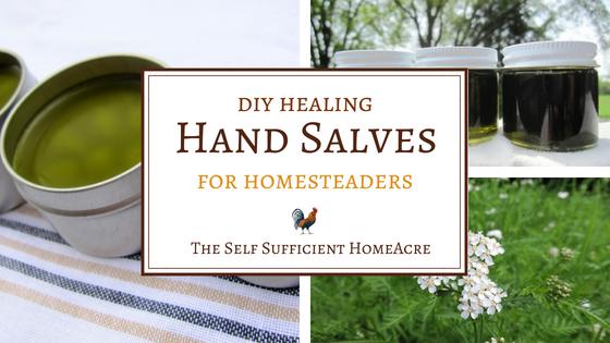 How to Make a Healing Hand Salve