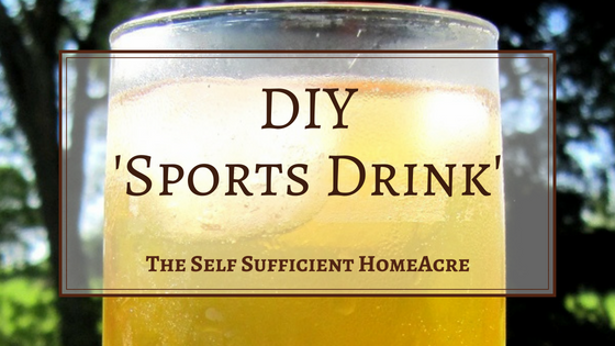 How to Make a Natural Sports Drink
