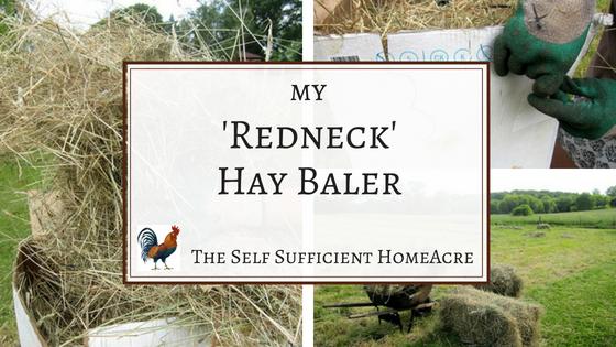 My 'Redneck' Hay Baler