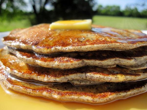buttermilk buckwheat pancakes 2