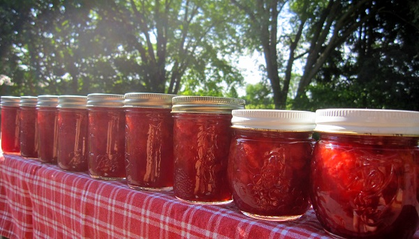 Low Sugar Strawberry Jam - Recipe