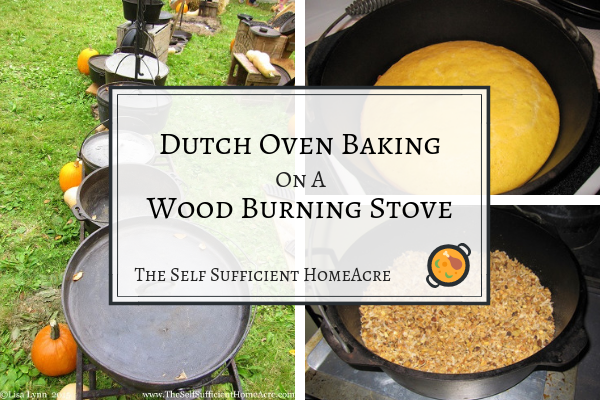 Dutch Oven Baking On A Wood Burning Stove