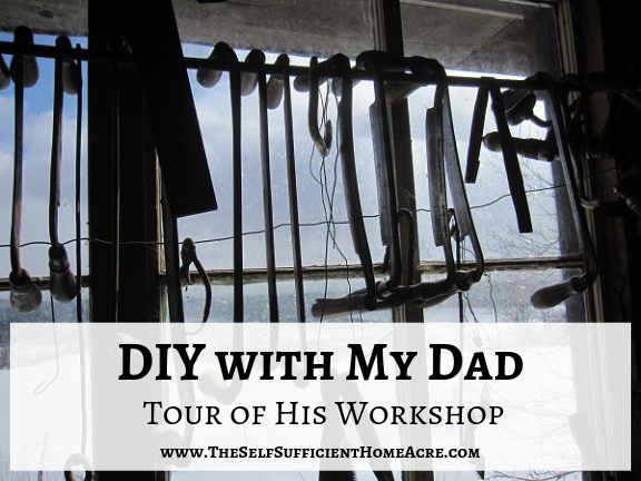 DIY with My Dad and a Tour of His Workshop