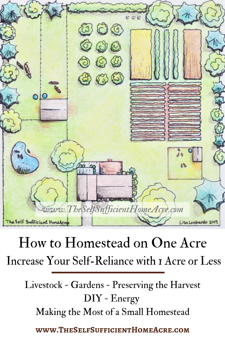 How to Homestead on One Acre