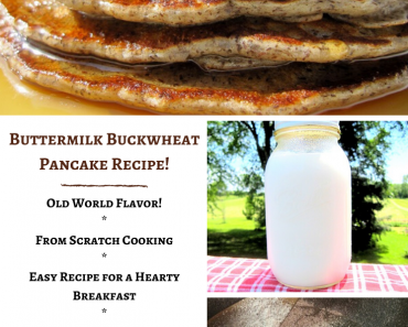 Buttermilk Buckwheat Pancake Recipe