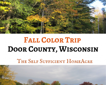 Fall Color Trip to Door County