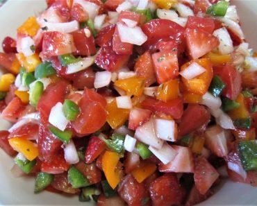 Fresh Strawberry Salsa Recipe