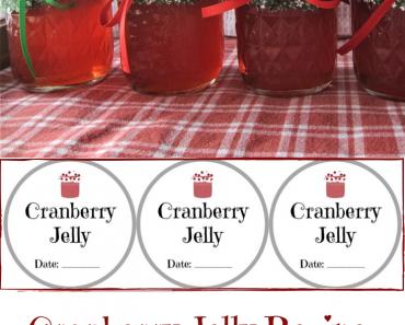 Easy Cranberry Jelly Recipe