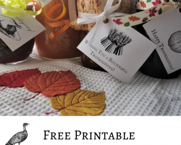 Vintage Thanksgiving Gift Tags & Cards – Free Printables!