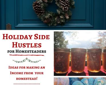 Holiday Side Hustles for Homesteaders