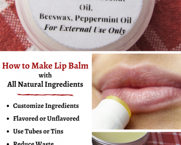 How to Make Lip Balm with All Natural Ingredients