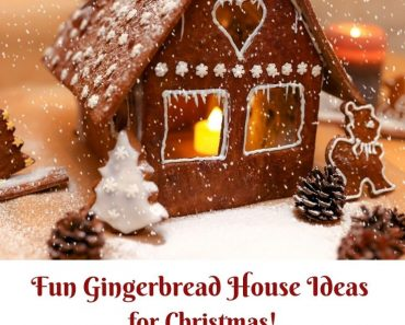 Gingerbread house ideas for Christmas