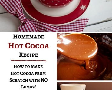 Homemade Hot Cocoa Recipe from Scratch