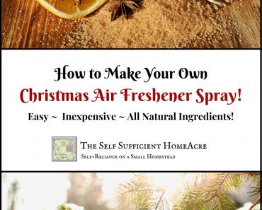 Christmas Air Freshener Spray!