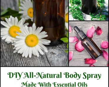 How to Make All-Natural Body Spray