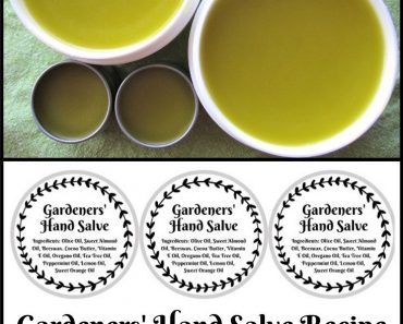 How to Make Gardening Hand and Skin Salve