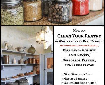 How to Clean Your Pantry in Winter for the Best Results
