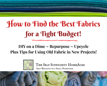 How to Buy the Best Fabric For a Tight Budget