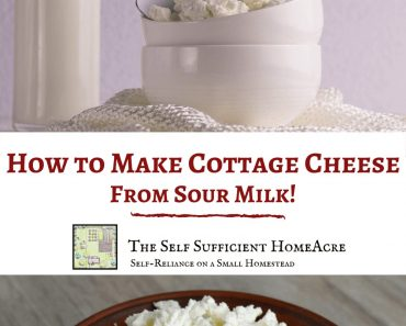 How to Make Cottage Cheese From Sour Milk