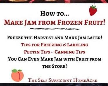 How to Make Jam from Frozen Fruit