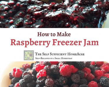 How to Make Raspberry Freezer Jam
