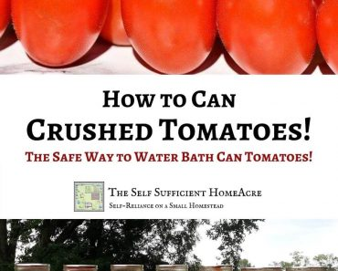How to Safely Can Crushed Tomatoes