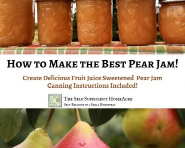 How to Make the Best Pear Jam